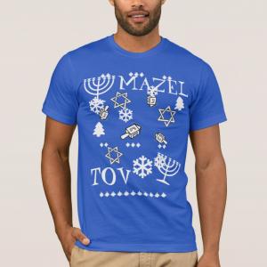Mazel Tov Ugly Haunukkah shirt