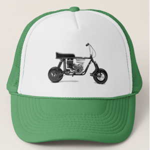mini bike trucker cap