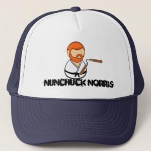 Nunchuck Norris Hat